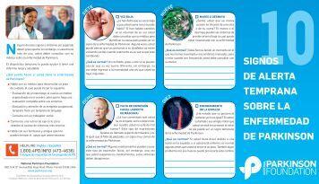 10signos de alerta temprana sobre la enfermedad de parkinson