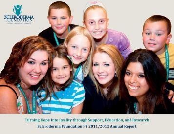 Scleroderma Foundation FY 2011/2012 Annual Report