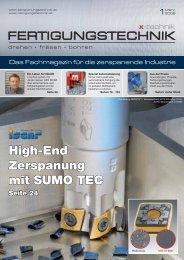 High-End Zerspanung mit SUMO TEC - x-technik