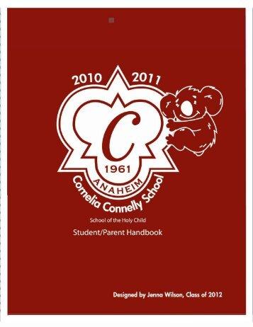 STUDENT / PARENT HANDBOOK 2010-2011
