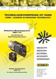 modulare werkzeuge hsk-t - Horn Magyarország Kft.
