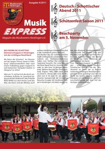 Magazin MVH (PDF / 1.7 MB) - Musikverein Herdringen eV