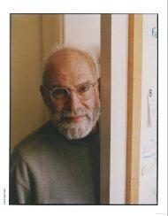 U X The Oliver Sacks