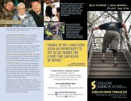 Read the program brochure. - Yellow Ribbon Fund
