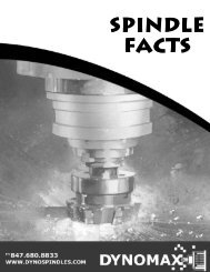 Part i - spindle facts