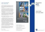 Programm 2010 - Marketing-Club Bremen eV