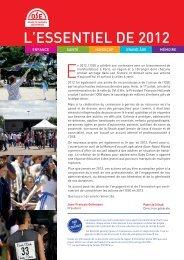 Télécharger l'essentiel 2012 - Œuvre de secours aux enfants