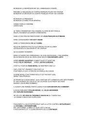 LE 16 AVRIL discours Borel