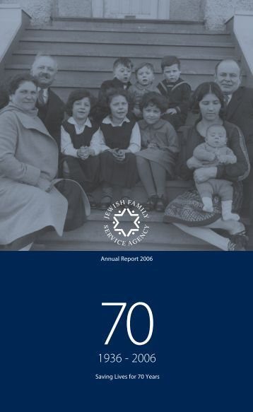 2006 Annual Report - Jewish Family Service Agency