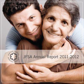JFSA Annual Report 2011-2012