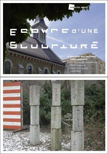 placette des terreaux 1003 lausanne esplanade de ... - Visarte