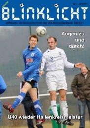 Der Kunstrasen kommt - SG Balve/Garbeck