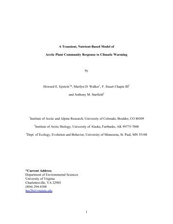 Vegetation Model (pdf) - Taiga Net