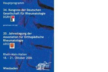 +DXSWSURJUDPP .RQJUHVV GHU - Deutsche Gesellschaft für ...