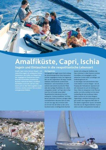 Amalfiküste Capri Ischia