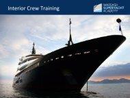 Interior Crew Training