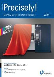 Precisely! (PDF 1,4 MB) - Makino Europe GmbH