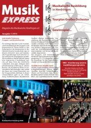 Magazin MVH (PDF / 3.7 MB) - Musikverein Herdringen eV
