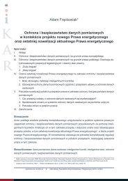 Adam Frąckowiak* Ochrona i bezpieczeństwo danych ... - iKAR