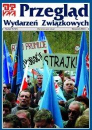 Numer 9 (121) http://pwz.opzz.org.pl Wrzesień 2004 r
