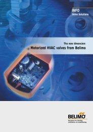 INFO Motorized HVAC valves from Belimo
