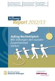 Auftrag Nachhaltigkeit - BMW Stiftung Herbert Quandt