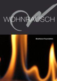 Wohnrausch Bioethanol Feuerstellen