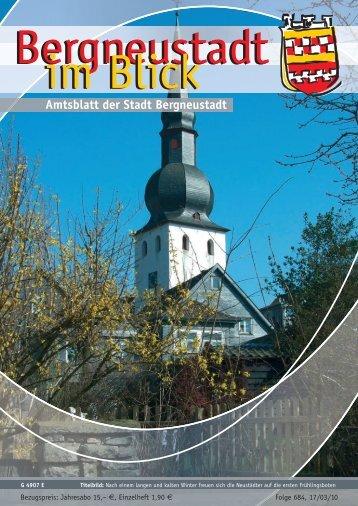 Amtsblatt der Stadt Bergneustadt