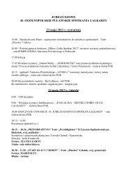 szczegółowy program - Powiat Puławski