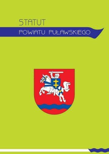 Statut Powiatu Puawskiego rozdziay_DRUK.cdr - Powiat Puławski