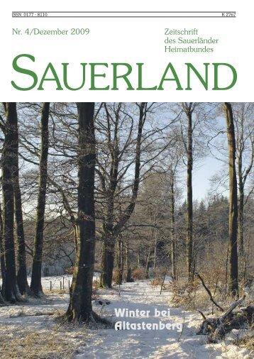 Sparkassen im Hochsauerlandkreis - Sauerländer Heimatbund e.V.