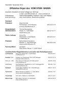 VOM STEIN BADEN INFO 11 / 2010 - Page 2