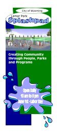 through People Parks and Programs