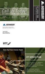 ott service team speedy turnaround repair service - Ame.com