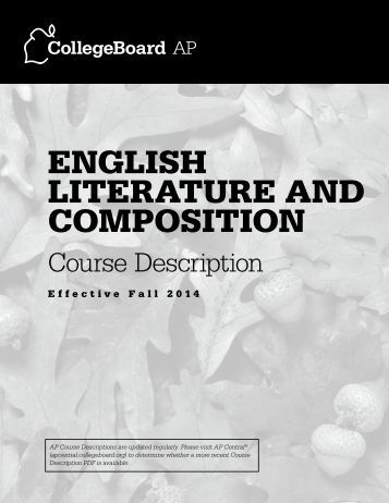 course description introduction to literature This database includes descriptions of courses offered in the university of pittsburgh's dietrich school of arts and sciences, the college of general studies, and the university honors college.