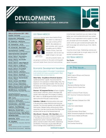 Chamber Members! - Mississippi Economic Development Council