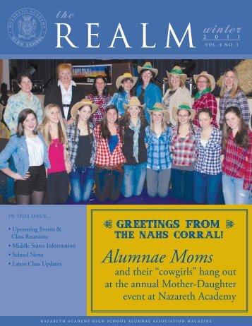 Alumnae Moms - Nazareth Academy High School