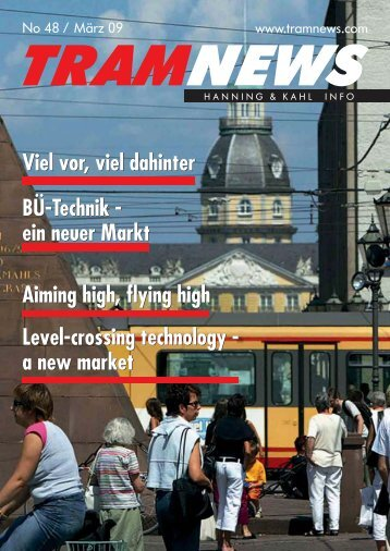 Level-crossing technology - a new market Aiming ... - Hanning & Kahl