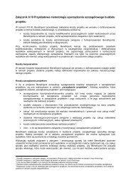 Przykładowa metodologia sporządzania szczegółowego ... - EFS