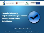 Presentation Title - Wojewódzki Urząd Pracy