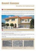 Baumit Nanopor samočisticí omítky a barvy Krása v péči přírody - Page 2