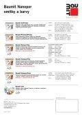 Baumit Nanopor samočisticí omítky a barvy Krása v péči přírody - Page 4