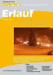 Gemeindezeitung Dezember 2010 - Friedensgemeinde Erlauf