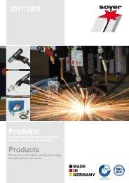 Produkte Products - soyer-shop.de