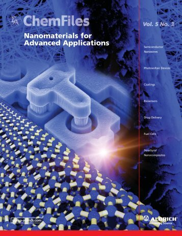 Vol. 5, No. 3 Nanomaterials for Advanced Applications - Sigma-Aldrich