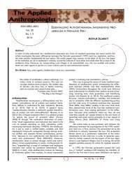 LIBERALISM IN HIGHLAND PERU Vol. 30 No. 1-2 2010 ISSN 0882 ...