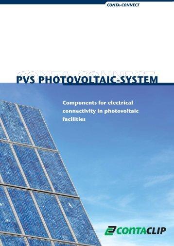 PVS PHOTOVOLTAIC-SYSTEM - Conta Clip
