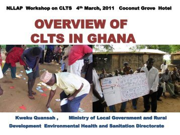 CLTS IN GHANA