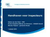 Handhaven voor inspecteurs