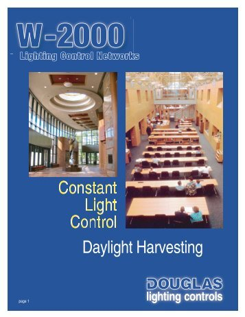Daylight Harvesting